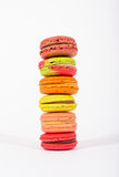 Tower macaroon. Tower Tasty colorful macaroon sweet Royalty Free Stock Photos