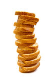 Tower Made Of Bread Royalty Free Stock Image