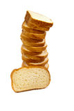 Tower Made Of Bread Stock Photo