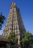 Tower-Madurai Meenakshi temple Stock Photos