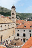 Tower and main street in Dubrovnik, Croatia Stock Image