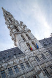Tower of Maison du Roi on the Grand Place Royalty Free Stock Photos