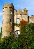 Tower of Malahide castle Ireland, Dublin. Malahide Castle is one of the oldest and most historic castles in Ireland. From 1185 until 1975, it was the home of the Royalty Free Stock Images