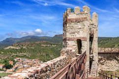Tower of Malaspina Castle Royalty Free Stock Images