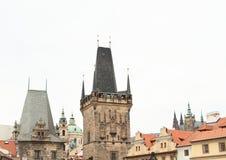 Tower Malostranska mostecka vez Royalty Free Stock Images