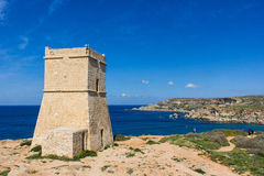 Tower in Malta Royalty Free Stock Image