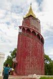 Tower of Mandalay palace architecture Stock Photos