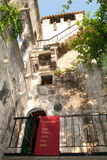 Tower of Marco Polo at the old town of Korcula Royalty Free Stock Images