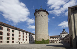 Tower of Marienburg castle, Wurzburg Stock Photo