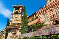Tower at Marionette Theatre square in Tbilisi, Georgia Stock Image