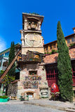 Tower at Marionette Theatre square in Tbilisi, Georgia Royalty Free Stock Photo