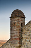 Tower of Marvao Castle. Close-up of a tower of Marvao Castle at Serra de S. Mamede in North Alentejo, Portugal Stock Photography