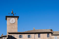 Tower of Maurizio, Orvieto Italy Stock Photography