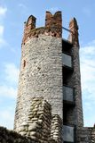 Tower in a medieval castle Royalty Free Stock Image