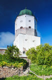 Tower of the medieval castle Stock Photos