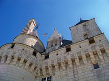 Tower of medieval castle Royalty Free Stock Photos