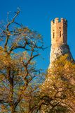Tower of Medieval Castle Devin. Tower of Medieval Castle Devin, Slovakia, Europe Royalty Free Stock Photo