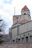 The tower of the medieval fortifications Royalty Free Stock Photos