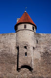 A tower of medieval town Tallinn Royalty Free Stock Photo