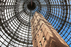 Tower at Melbourne Central Shopping mall Stock Photography