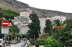 Tower Minceta in Dubrovnik, Croatia Royalty Free Stock Photos