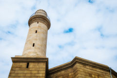 Tower Minaret in Baku cty Stock Photography