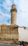 Tower Minaret in Baku cty Stock Images