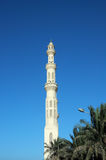 Tower minaret of a mosque Stock Image
