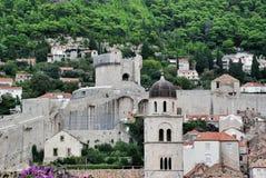 Tower Minčeta in Dubrovnik, Croatia Royalty Free Stock Image