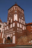 The Tower of the Mir Castle. Belarus Royalty Free Stock Photos