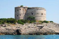 Tower at Miriste. In Montenegro Royalty Free Stock Image