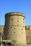 Tower of Mohamed Ali Citadel in Cairo Royalty Free Stock Image