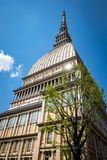Tower Mole Antonelliana now National Museum of Cinema in Turin, Italy Royalty Free Stock Photos