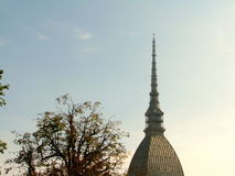 The tower of Mole Antonelliana in Turin, Italy Stock Photo