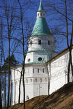 Tower of the monastery of New Jerusalem Royalty Free Stock Photography
