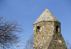Tower of a monastery ruin Stock Photography