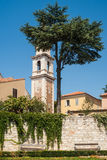 Tower of Monastery of St. Francis Assisiin, Zadar Stock Photography