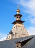 The tower of the monastery Royalty Free Stock Photos