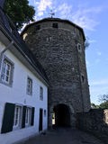Tower in Monschau Stock Photo