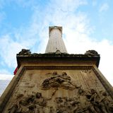 Tower. Monument in London royalty free stock photography