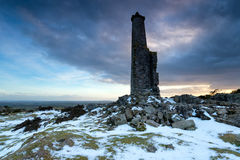 Tower on the Moors Royalty Free Stock Image