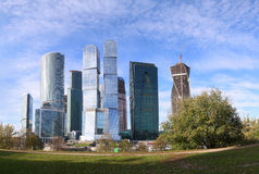 Tower 2000, Moscow International Business Centre Royalty Free Stock Images