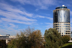 Tower 2000, Moscow International Business Centre Royalty Free Stock Photos
