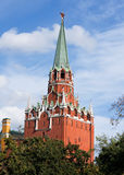 Tower of Moscow Kremlin Royalty Free Stock Photos