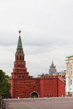 Tower of the Moscow Kremlin Stock Images