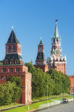 Tower of Moscow Kremlin Royalty Free Stock Photo