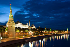 Tower Moscow Kremlin and river Royalty Free Stock Image