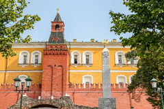 Tower of Moscow Kremlin Royalty Free Stock Photography