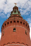 Tower of the Moscow Kremlin. Royalty Free Stock Photos
