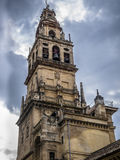 Tower of the Mosque of Cordoba Stock Photos